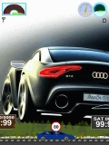 Audi car animated